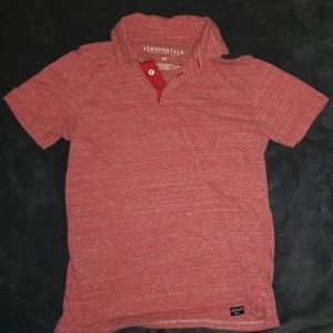 EUC Mens sz S Aeropostale super soft polo